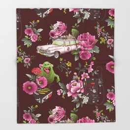 Ecto Floral Throw Blanket