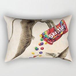 Jurassic skittles Rectangular Pillow