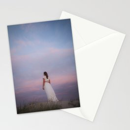 Sunset in the dunes Stationery Cards