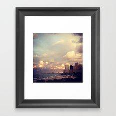 Lakefront Framed Art Print