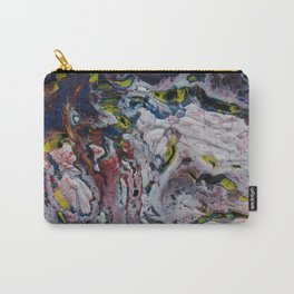 snow acrylic pouring Carry-All Pouch
