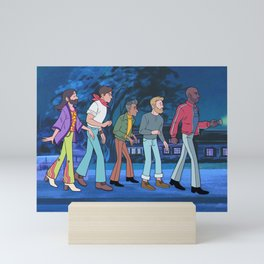 The Fab 5 Gang Mini Art Print