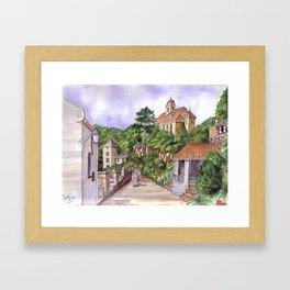 Port Meirion Framed Art Print