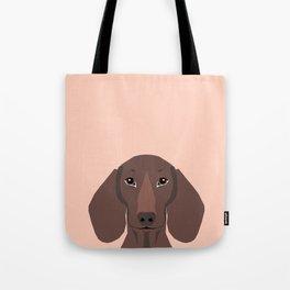 Remy - Daschund hipster dog, doxie, weiner dog, wiener dog,  Tote Bag