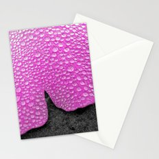 pink ginkgo leaf I Stationery Cards