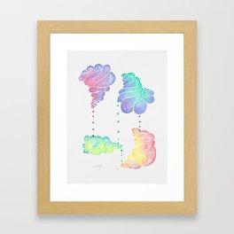 Ice Cream Shells Framed Art Print