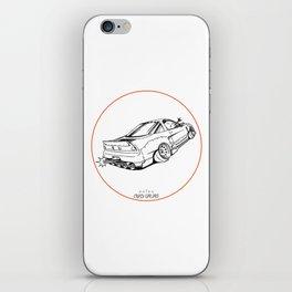 Crazy Car Art 0191 iPhone Skin