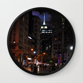 Night has fallen... Wall Clock