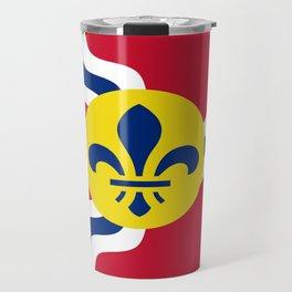 Flag of Saint Louis Travel Mug