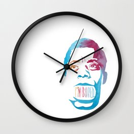 JAMES BALDWIN//LAST WORDS Wall Clock