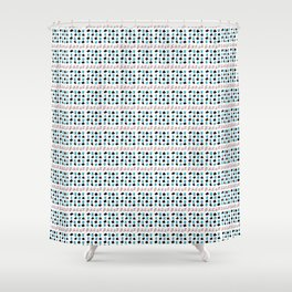 Rectangle and abstraction 3-abstraction,abstract,rectangled,geomtry,geometric Shower Curtain