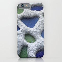 Sea Glass Mosaic Detail iPhone Case