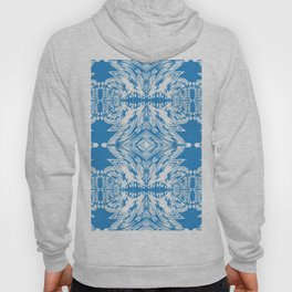 Blue and White Classy Psychedelic Hoody