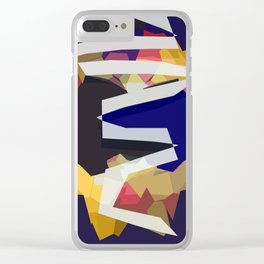 THE BOLD ONES Clear iPhone Case