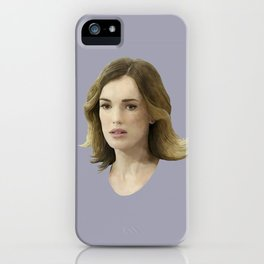 Jemma Simmons iPhone Case