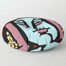 Jugendstil Einfuhrmesse Frankfurt re Floor Pillow