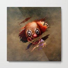 Clown 05 Metal Print