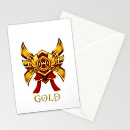 League of Legends Gold Tier Stationery Cards