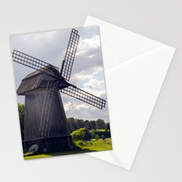 Old summer mill  Stationery Cards