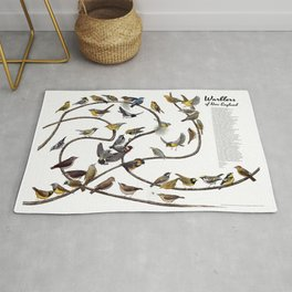 Warblers of New England Rug