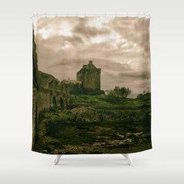 Eilean Donan Castle, Kyle of Lochalsh, Scotland Shower Curtain