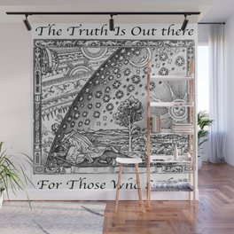 Flammarion Wood Engraving The Truth Wall Mural