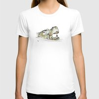 hippo T-shirts featuring Hippo by Ursula Rodgers