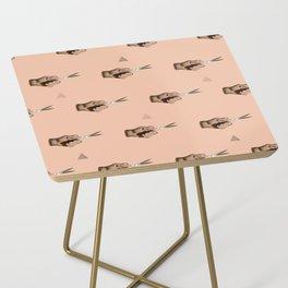 Pattern Cut Side Table