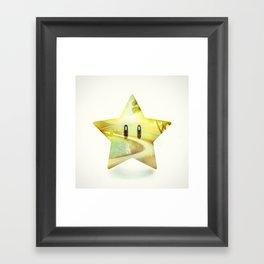 Super Star - Kart Art Framed Art Print