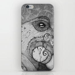 Almost midnight iPhone Skin