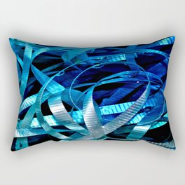 ribbon flow Rectangular Pillow