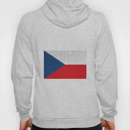 Extruded flag of the Czech Republic Hoody