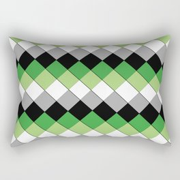 Aro (pattern) Rectangular Pillow
