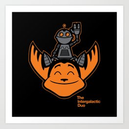 Ratchet & Clank Art Print