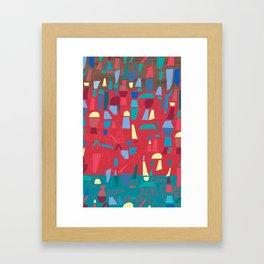 structures 6 Framed Art Print
