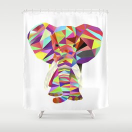 Emil Elephant Shower Curtain