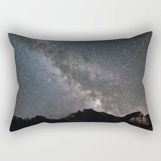 Night in Switzerland Rectangular Pillow