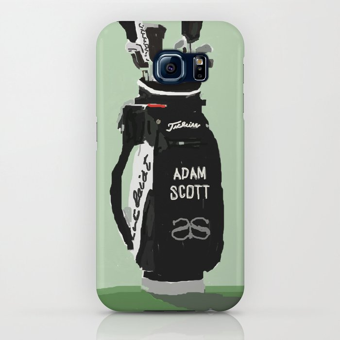 Adam Scott Golf Bag Iphone Case By Bakeregeleia Society6