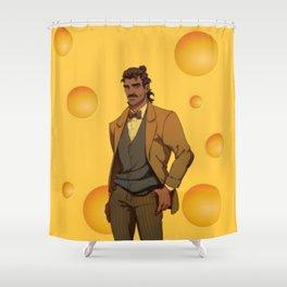 Dream Daddy: Hugo Vega Shower Curtain