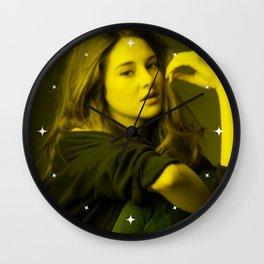 Sheilin Woodley - Celebrity (Florescent Color Technique) Wall Clock