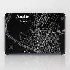 Vintage Austin Negative iPad Case