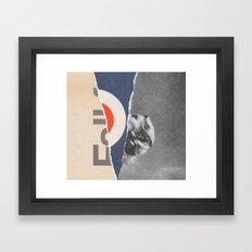mad girl Framed Art Print