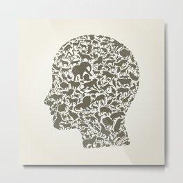 Head an animal Metal Print