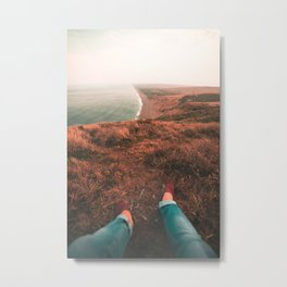 Chilling At Point Reyes Metal Print