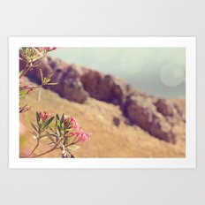 Flowers in Paradise 1 Art Print