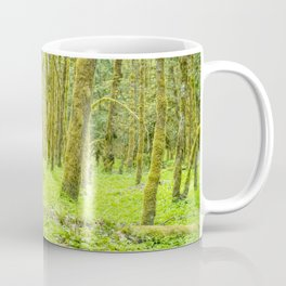 Vibrant Mossy Green Forest Coffee Mug