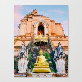 Wat Chedi Luang in Chiang Mai Fine Art Print Canvas Print