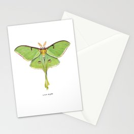 Luna Moth (Actias luna) II Stationery Cards