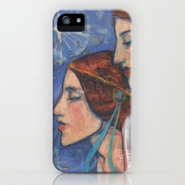 Tribute to Art Nouveau iPhone Case