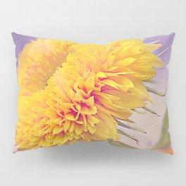 Vintage sunflower Pillow Sham